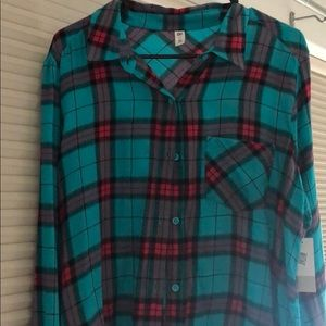Bp from Nordstrom flannel. New with tags